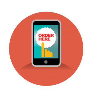 mobile delivery online
